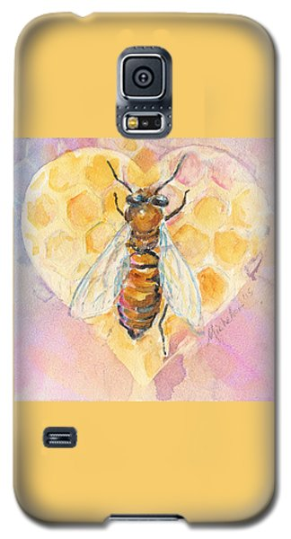 Bee Heart Galaxy S5 Case