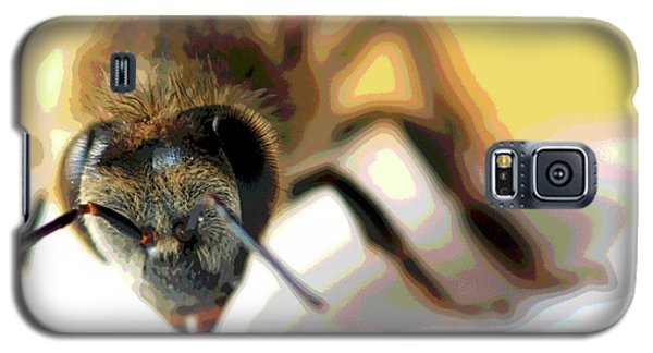 Galaxy S5 Case featuring the photograph Bee In Macro 5 by Micah May