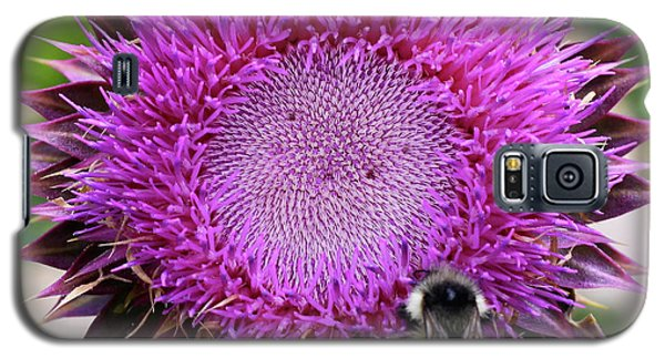 Bee On Thistle Galaxy S5 Case