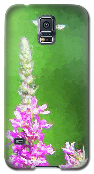 Bee Over Flowers Galaxy S5 Case