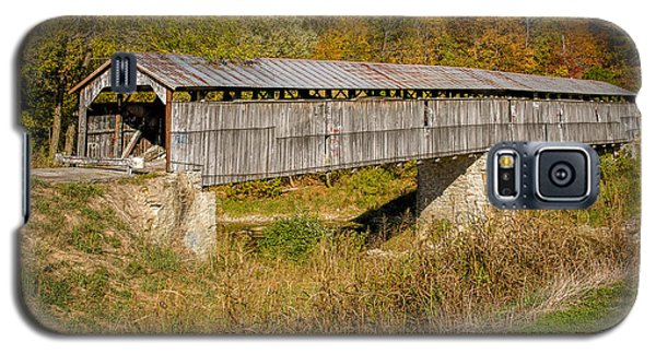 Beech Fork Or Mooresville Covered Bridge Galaxy S5 Case