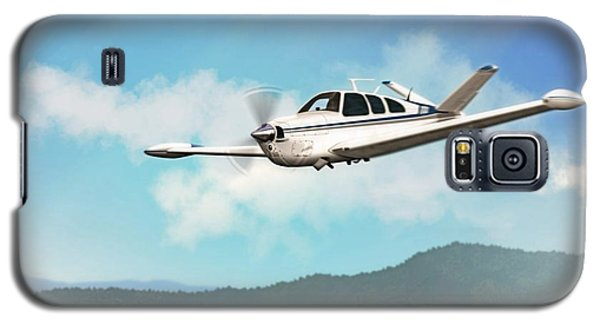 Beechcraft Bonanza V Tail Galaxy S5 Case by John Wills