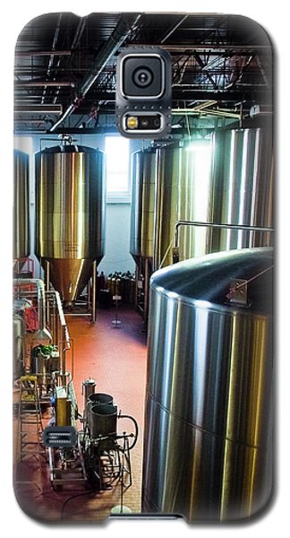 Galaxy S5 Case featuring the photograph Beer Vats by Linda Unger