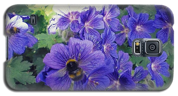 Bees And Flowers Galaxy S5 Case