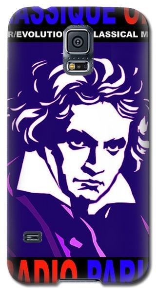 Beethoven Classique One Radio Paris  Galaxy S5 Case