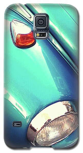 Beetle Blue Galaxy S5 Case by Rebecca Harman