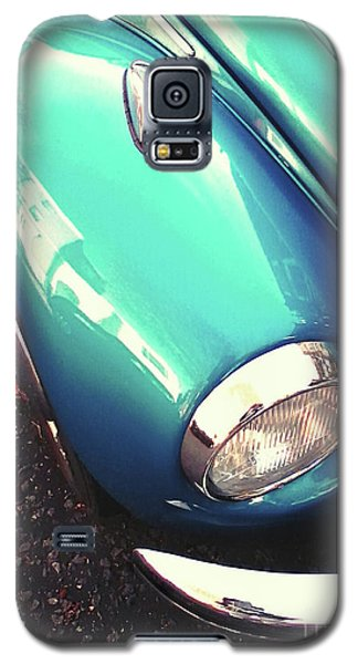 Galaxy S5 Case featuring the photograph Beetle Blue by Rebecca Harman