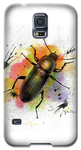 Beetle Illustration Galaxy S5 Case