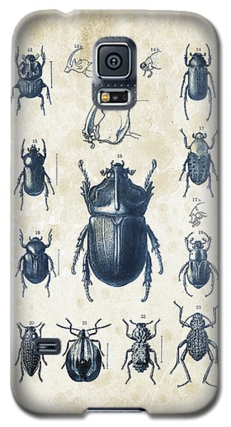 Beetles - 1897 - 02 Galaxy S5 Case by Aged Pixel
