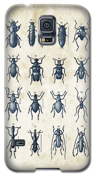 Beetles - 1897 - 03 Galaxy S5 Case by Aged Pixel