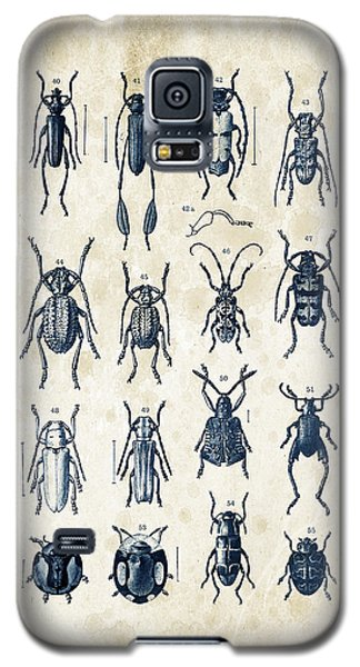 Beetles - 1897 - 04 Galaxy S5 Case by Aged Pixel