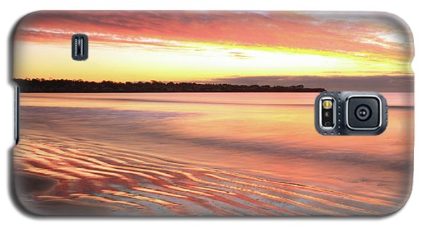 Galaxy S5 Case featuring the photograph Before Sunrise At First Beach by Roupen  Baker