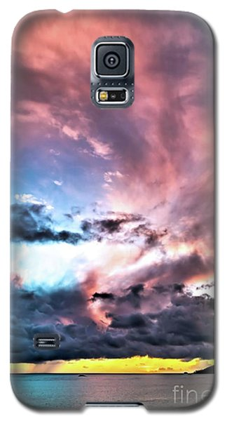 Galaxy S5 Case featuring the photograph Before The Storm Avila Bay by Vivian Krug Cotton