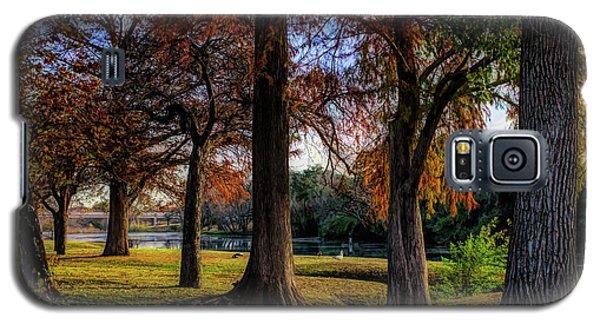 Beginning Of Fall In Texas Galaxy S5 Case