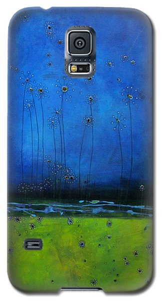 Galaxy S5 Case featuring the painting Beginnings by Nicole Nadeau