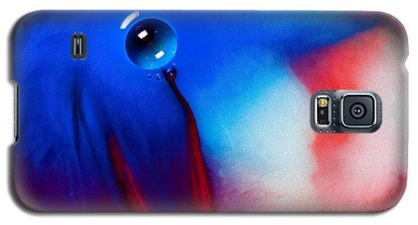 Behind Blue Eye Galaxy S5 Case