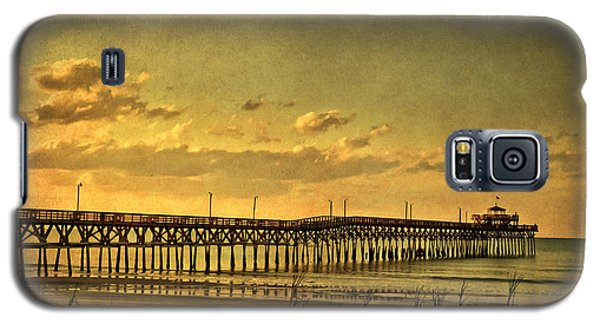 Behind Cherry Grove Pier  Galaxy S5 Case