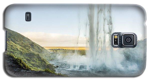 Behind Seljalandsfoss Galaxy S5 Case