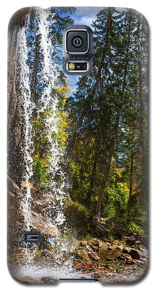 Behind Spouting Rock Waterfall - Hanging Lake - Glenwood Canyon Colorado Galaxy S5 Case by Brian Harig