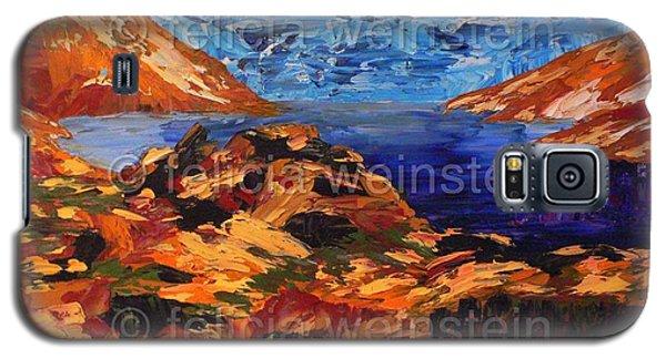 Behind The Rocks 1 Galaxy S5 Case