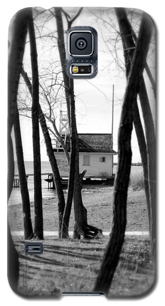 Galaxy S5 Case featuring the photograph Behind The Trees by Valentino Visentini