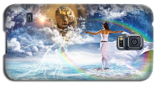 Behold, He Is Coming  Galaxy S5 Case by Dolores Develde