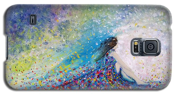 Being A Woman - #5 In A Daydream Galaxy S5 Case by Kume Bryant