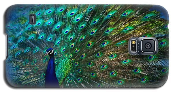 Being Yourself - Peacock Art Galaxy S5 Case