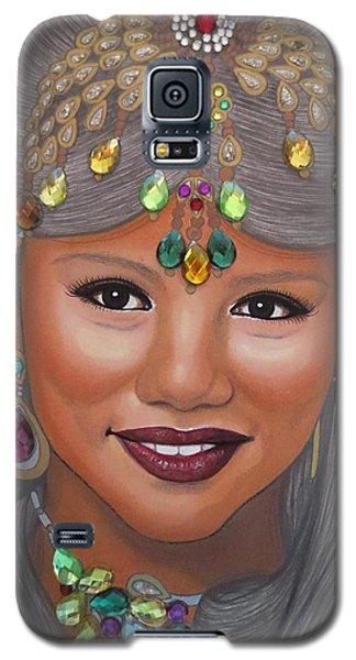 Bejeweled Beauties - Bindiya Galaxy S5 Case by Malinda Prudhomme