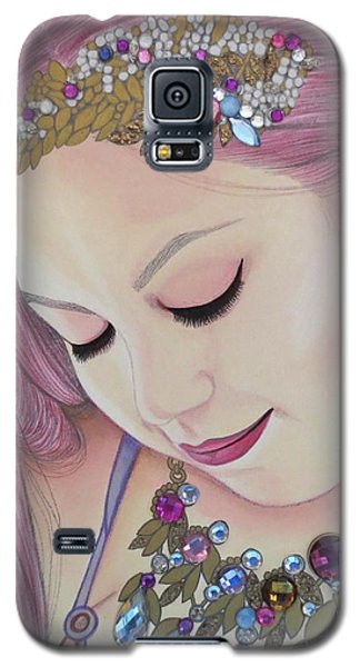 Bejeweled Beauties - Caitlin Galaxy S5 Case