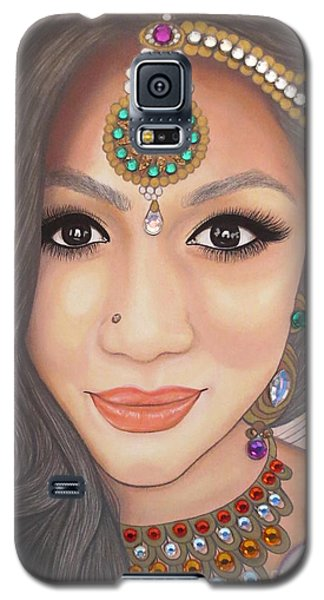 Bejeweled Beauties - Chandni Galaxy S5 Case