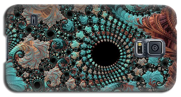 Galaxy S5 Case featuring the digital art Bejeweled Fractal by Bonnie Bruno