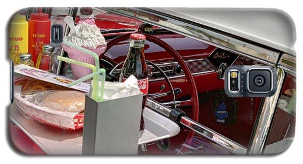 Bel Air 1956. Miami Galaxy S5 Case by Juan Carlos Ferro Duque