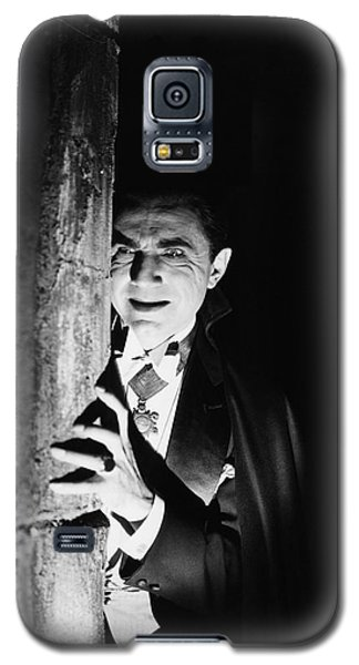 Bela Lugosi Dracula Galaxy S5 Case by R Muirhead Art