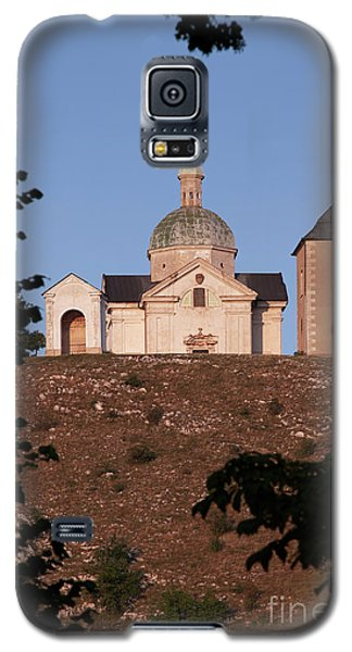 Galaxy S5 Case featuring the photograph Belfry And Chapel Of Saint Sebastian by Michal Boubin