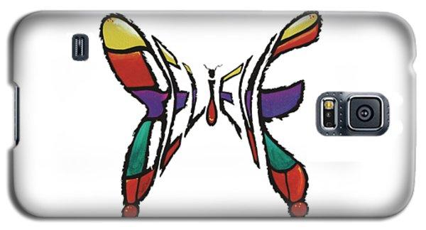 Believe-butterfly Galaxy S5 Case