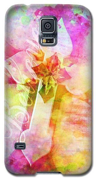 Believe O2 Galaxy S5 Case