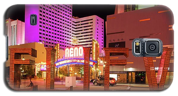Galaxy S5 Case featuring the photograph Believe Reno Nevada by Scott McGuire