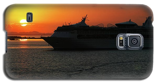 Belize Sunset Galaxy S5 Case