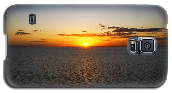 Belize Sunset Galaxy S5 Case by Marlo Horne