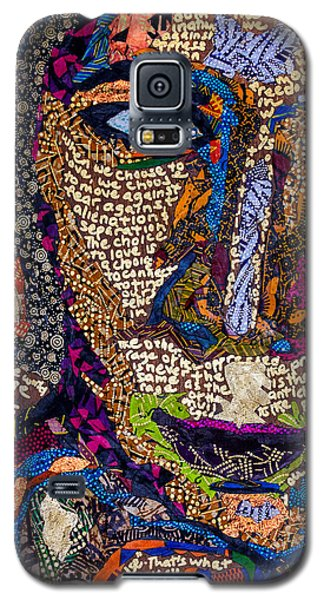 Bell Hooks Unscripted Galaxy S5 Case by Apanaki Temitayo M