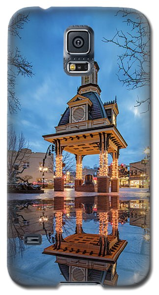 Bell Tower  In Beaver  Galaxy S5 Case by Emmanuel Panagiotakis
