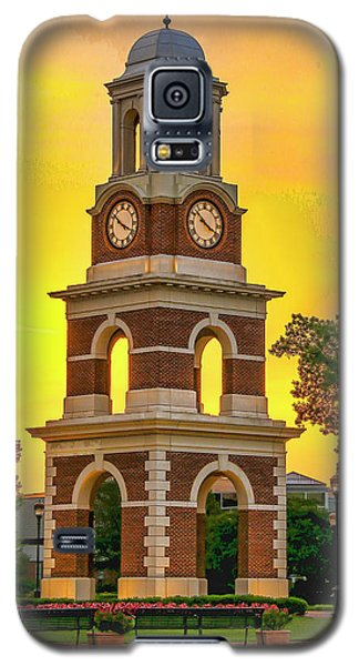 Bell Tower At Christopher Newport University C N U Galaxy S5 Case