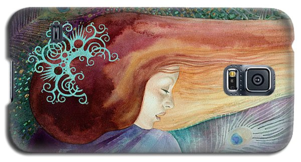 Galaxy S5 Case featuring the painting Bella Aurora by Ragen Mendenhall