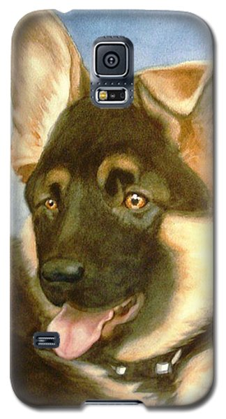 Galaxy S5 Case featuring the painting Bella by Marilyn Jacobson