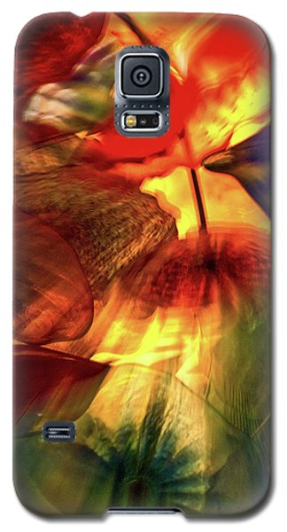 Bellagio Ceiling Sculpture Abstract Galaxy S5 Case by Stuart Litoff