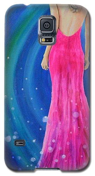 Galaxy S5 Case featuring the painting Bellissimo by Mary Scott