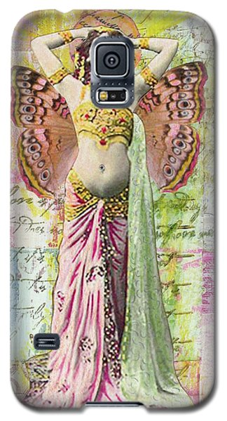 Galaxy S5 Case featuring the mixed media Belly Dancer by Desiree Paquette