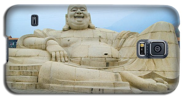 Galaxy S5 Case featuring the photograph Belly Laugh by R Thomas Berner