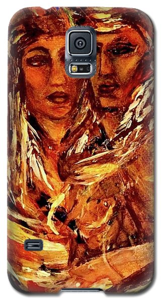 Galaxy S5 Case featuring the painting Beloved Woman by Dawn Fisher